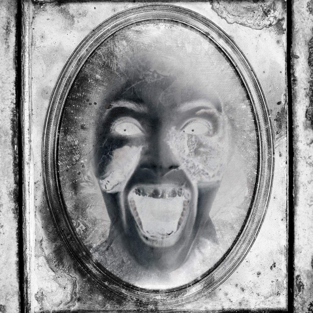 Bild: Schrei im Spiegel