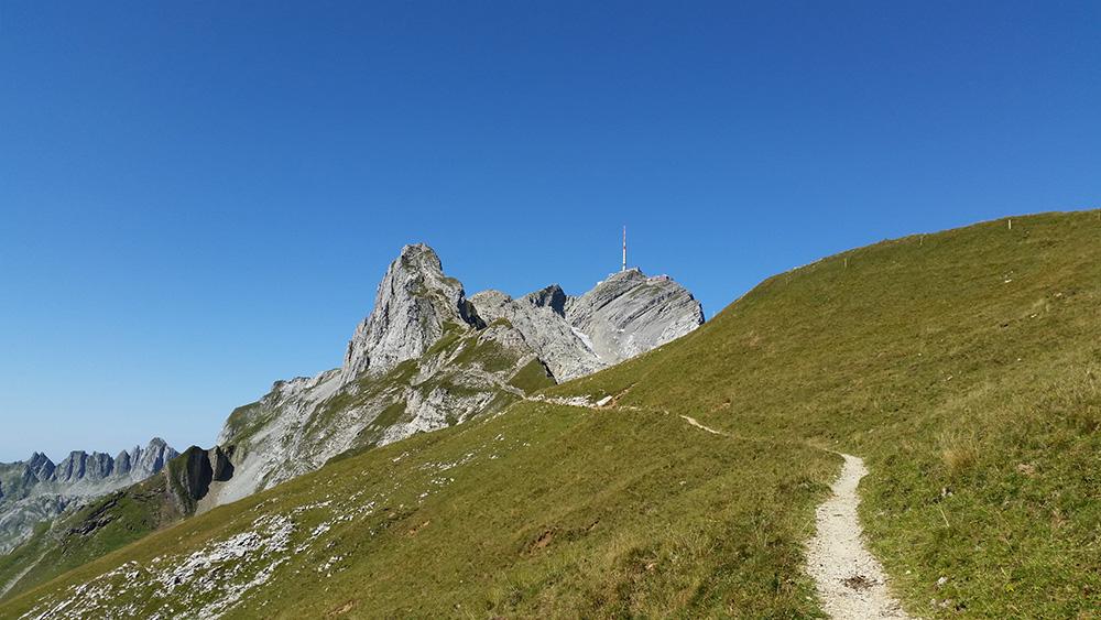 Bild: Weg hinauf