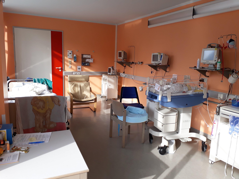 Krankenzimmer von Ronja