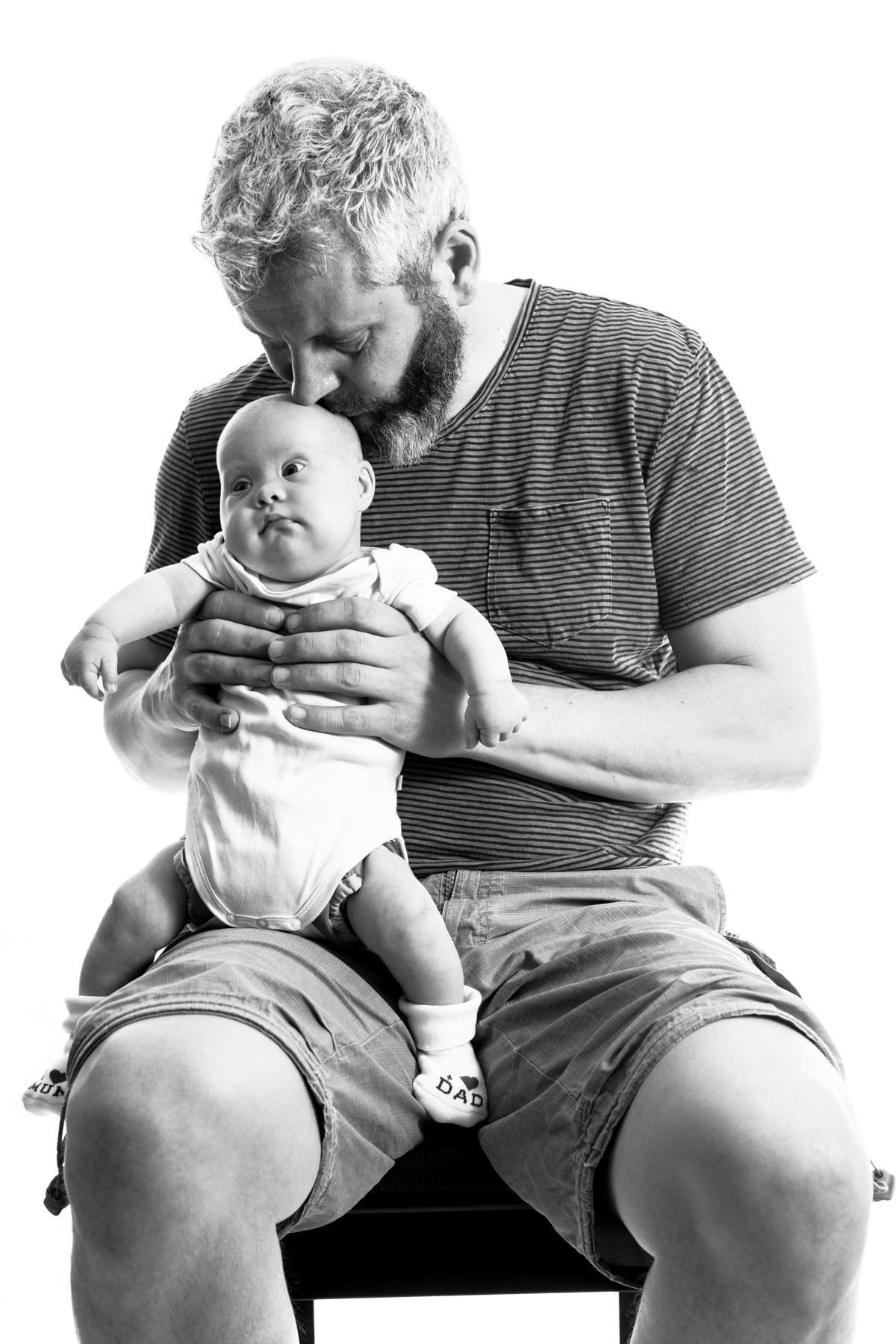 Ronja mit Papa